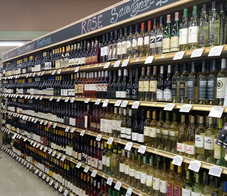 Wine Department | The Market Grocery Store Fresno